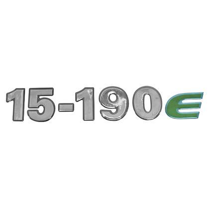 EMBLEMA FRONTAL CRISTAL 15190E