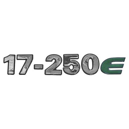 EMBLEMA FRONTAL CRISTAL 17250E
