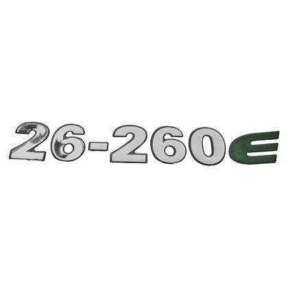EMBLEMA FRONTAL CRISTAL 26260E