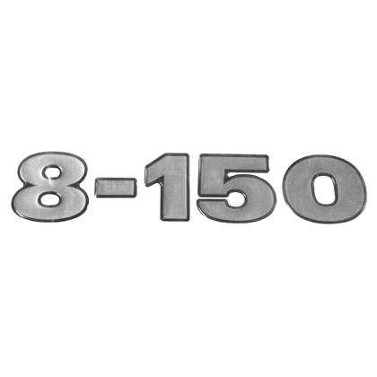 EMBLEMA FRONTAL CRISTAL 8150