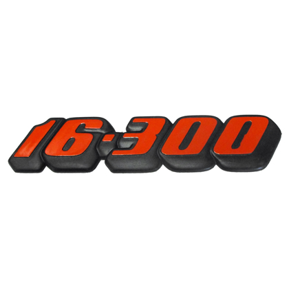 EMBLEMA LATERAL 16300