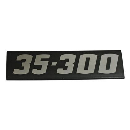 EMBLEMA LATERAL 35300