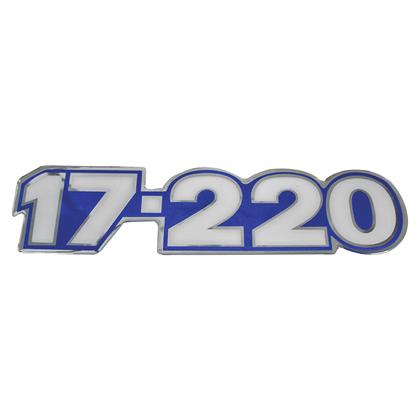 EMBLEMA LATERAL AZUL 17.220
