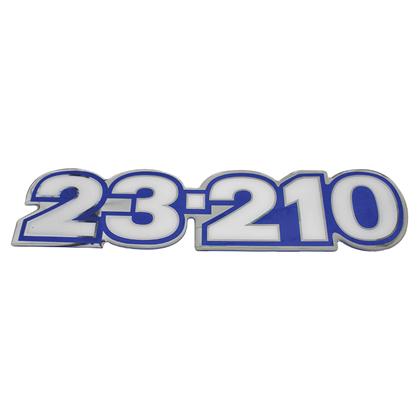 EMBLEMA LATERAL AZUL 23.210