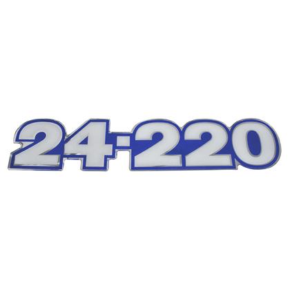 EMBLEMA LATERAL AZUL 24.220