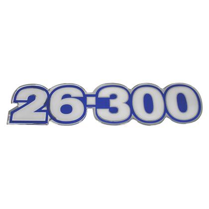 EMBLEMA LATERAL AZUL 26.300