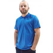 Camisa Polo em Malha Fria - Azul Royal
