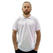 Camisa Polo em Malha Fria - Branca