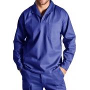 Camisa Profissional Gola Italiana Manga Longa Azul