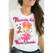 Camiseta Aniversario Minha Princesa