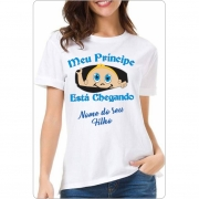 Camiseta Chá de Bebê Meu Principe