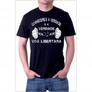 Camiseta Conhecereis a Verdade