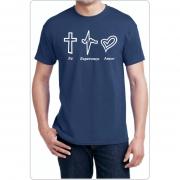 Camiseta Fé, Esperança e Amor