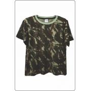 Camiseta infantil - Camuflado