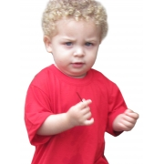 Camiseta infantil - Vermelha