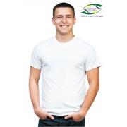 Camiseta Malha Poliéster - Branca