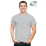 Camiseta Malha Poliéster - Cinza