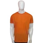 Camiseta Malha Poliéster - Laranja