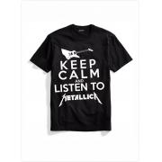 Camiseta Metallica keep Calm