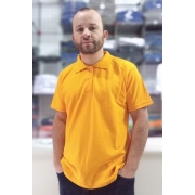 Camiseta Polo - Amarela