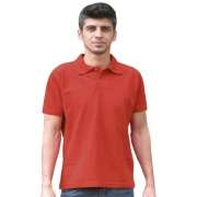 Camiseta Polo - Vermelha