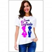 Kit 3 Camisetas Personalizada p/ Chá Revelação Guardiã