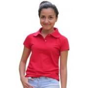 Polo Feminina - Vermelha