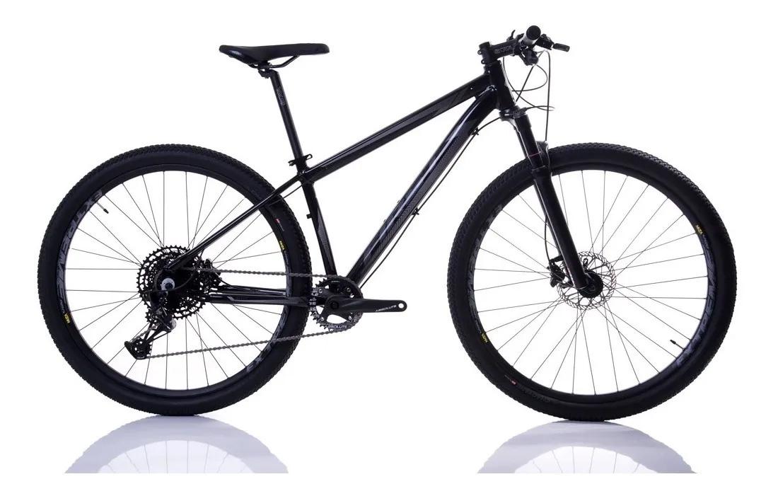 Bicicleta Aro 29 First Smitt Sram Nx Eagle 12 Velocidades Suspensão a Ar Freio Hidráulico