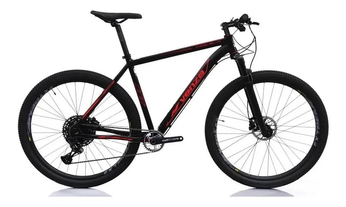 Bicicleta Aro 29 Venzo Aquila Tam 21 Sram Nx Eagle 12v 1x12v