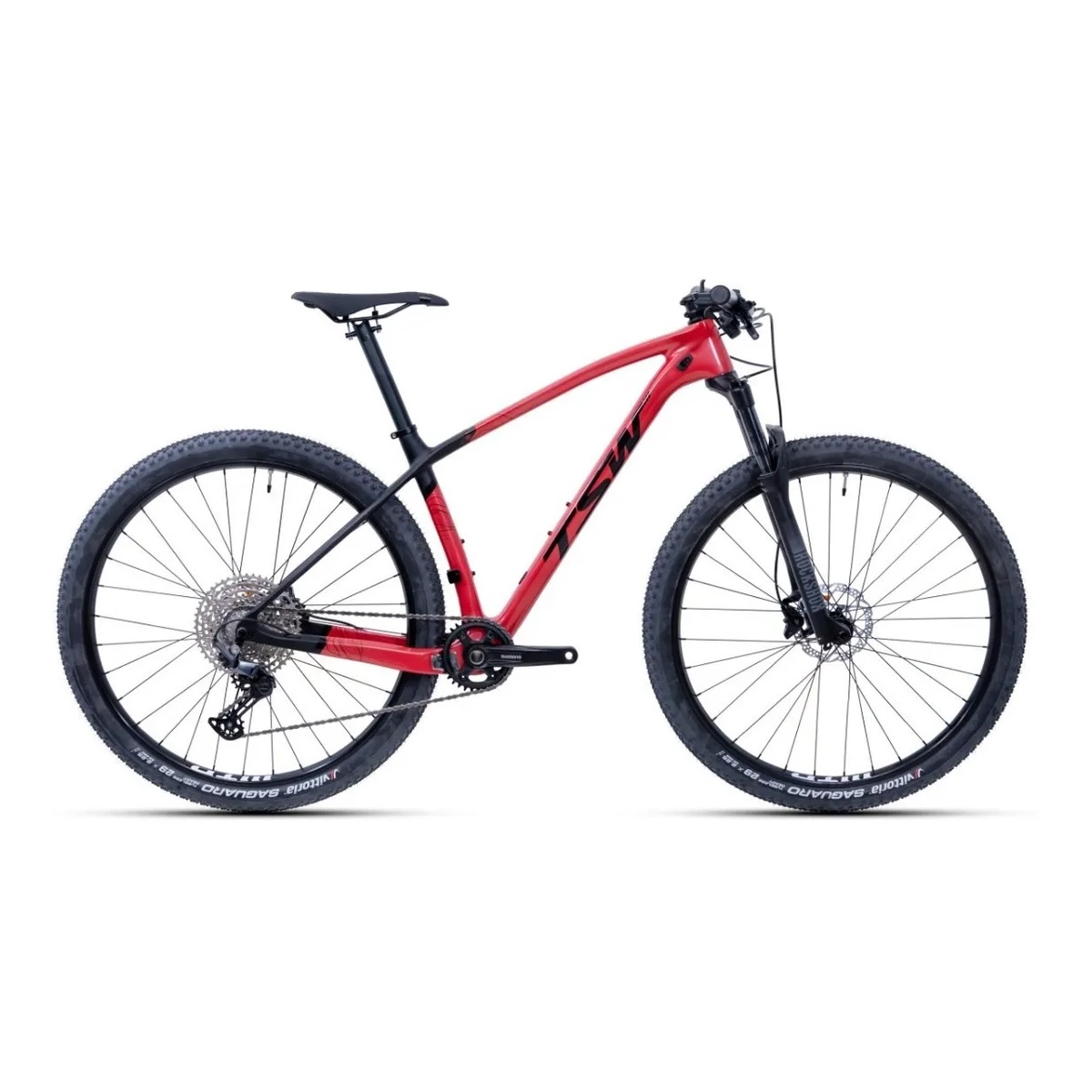 Bicicleta Tsw Evo Quest Starter Shimano Deore 12 Velocidades