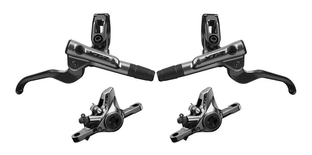 Freios A Disco Hidráulico Shimano Xtr M9100 2019 Carbono