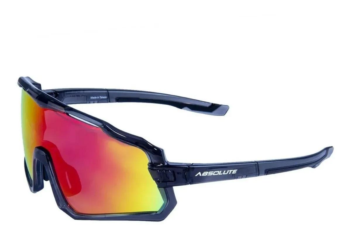 Óculos Ciclismo Bike Absolute Wild 400uv Fumê Cores