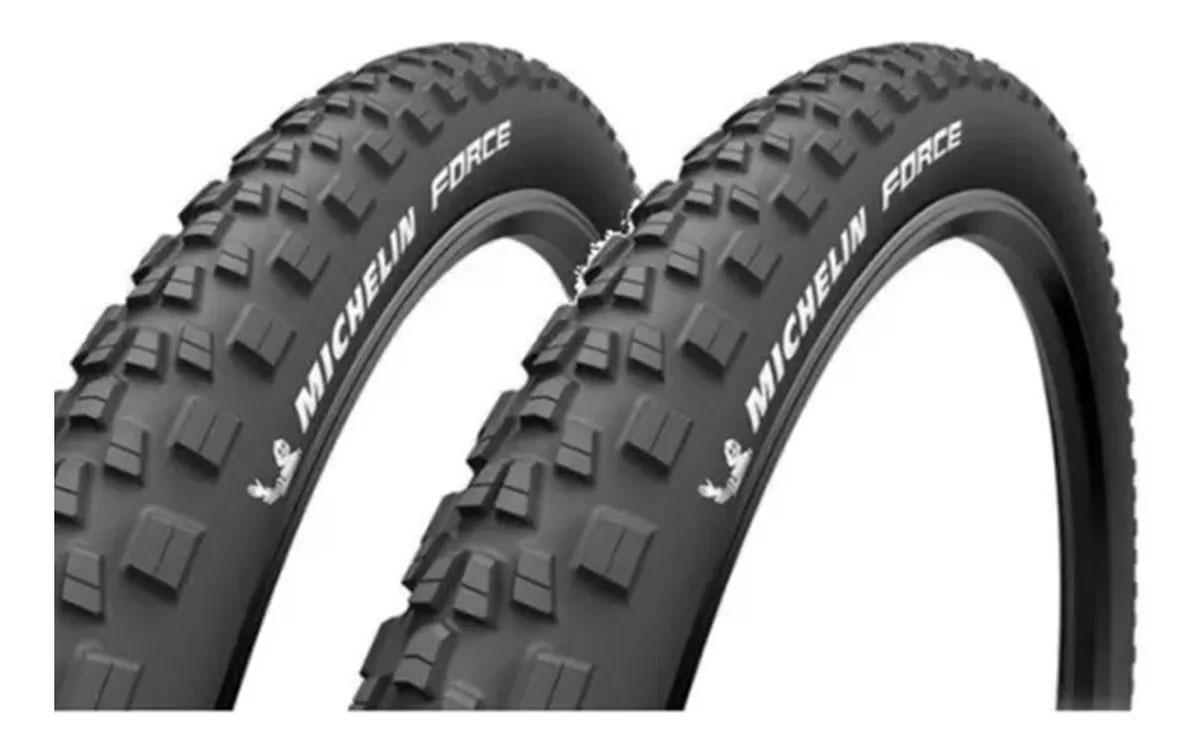 Par de Pneus Aro 29 Michelin Force Access Line 2.25 Talão Rígido