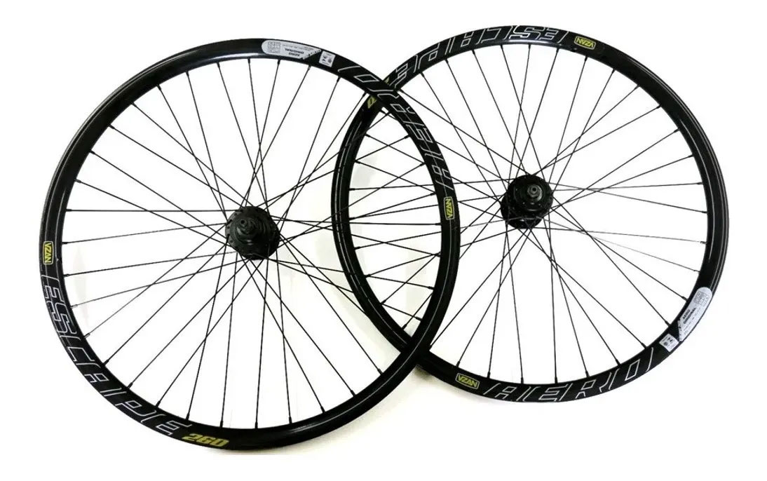 Par Roda Bicicleta Mtb Aro 26 Disco Vzan Aero Escape 260 36f