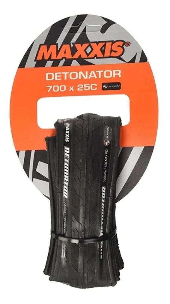 Pneu Maxxis Detonator 700x25c Silk Worm Aramida