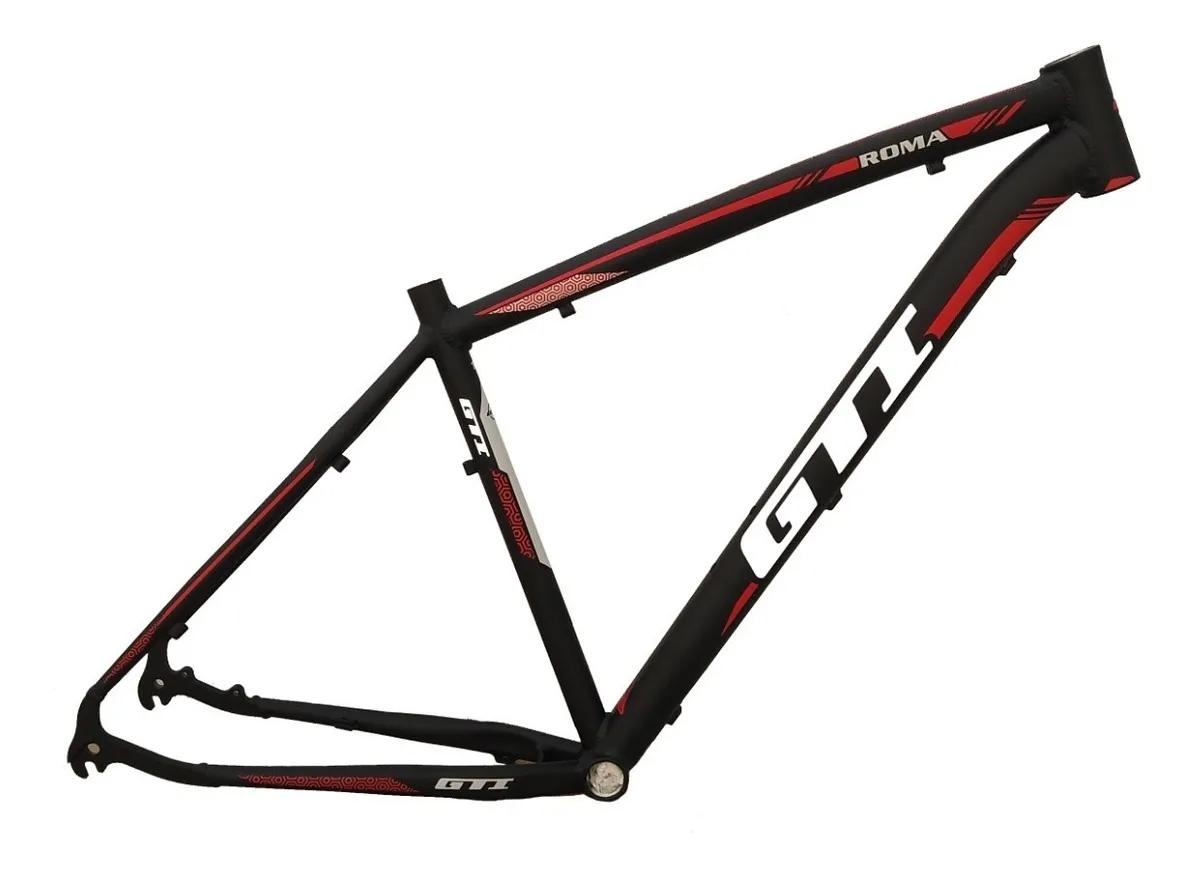 Quadro De Bicicleta Aro 29 Gti Roma Mtb Bike C/ Gancheira 19