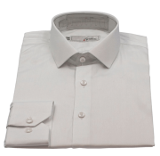 Camisa Social Manga Longa Masculina Branca