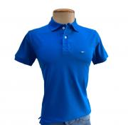 Camiseta Polo Masculina Azul Royal