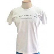 Camiseta Boschini Manga Curta Branca