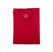 Camiseta Boschini Manga Curta Vermelha