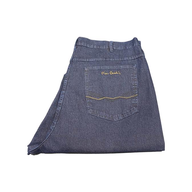 Calça Jeans Escura Masculina Plus Size