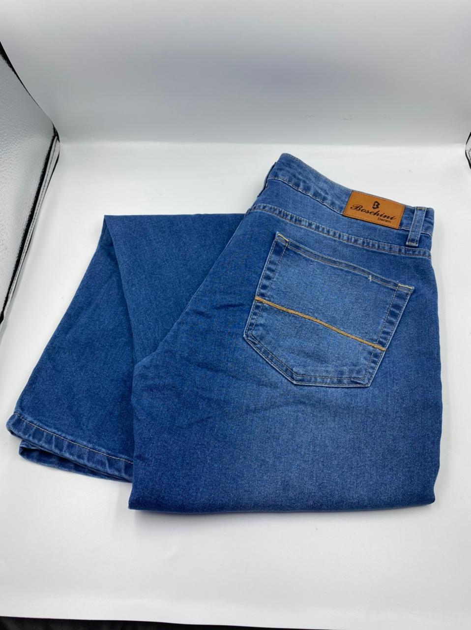 Calça Jeans Boschini Lavagem Clara