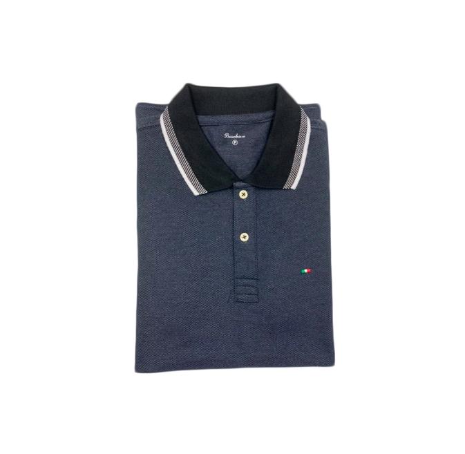 Camisa Polo Boschini Cinza Escuro