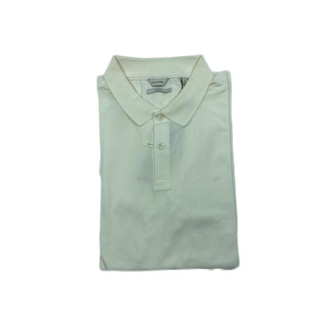 Camisa Polo Calvin Klein Branca