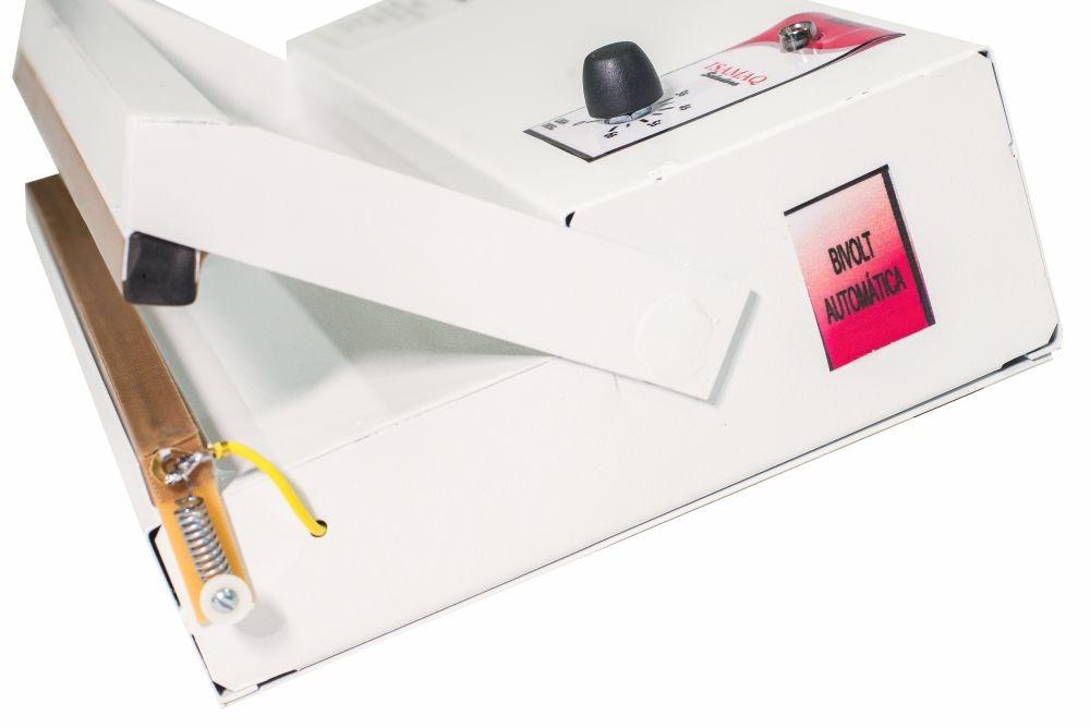 Seladora de Embalagens Plásticas Manual com Temporizador 20cm