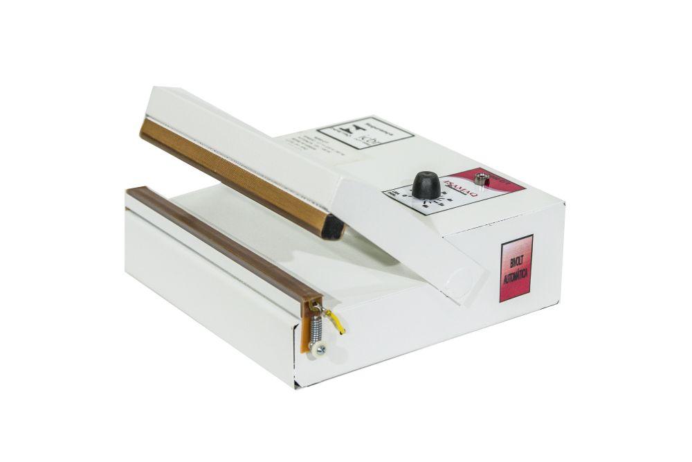 Seladora de Embalagens Plásticas manual com Temporizador 20cm Sela e Corta