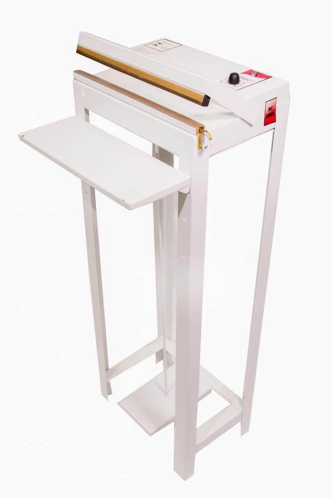 Seladora de Embalagens Plásticas pedal com Temporizador 40cm Sela e corta