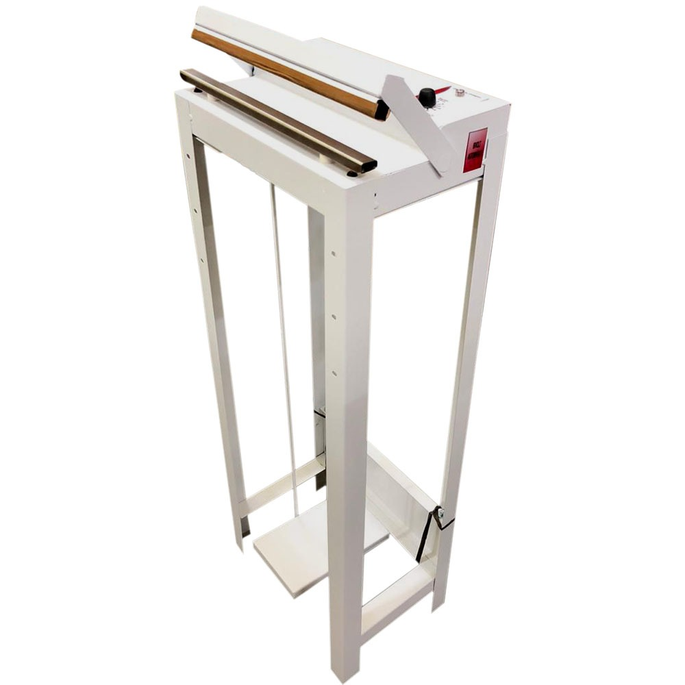 Seladora para Papel Grau Cirúrgico 25cm pedal Bivolt