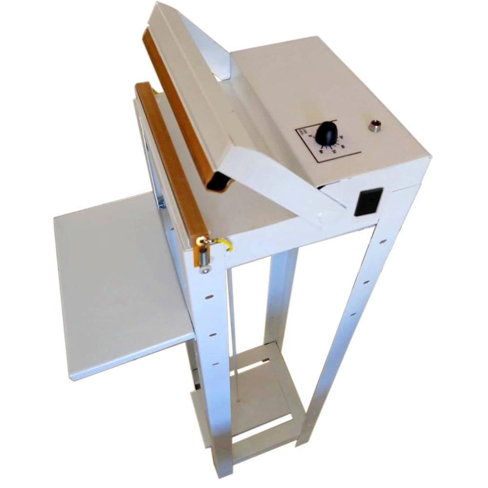 Seladora Pedal 20cm Com Temporizador Para Sacos Plásticos