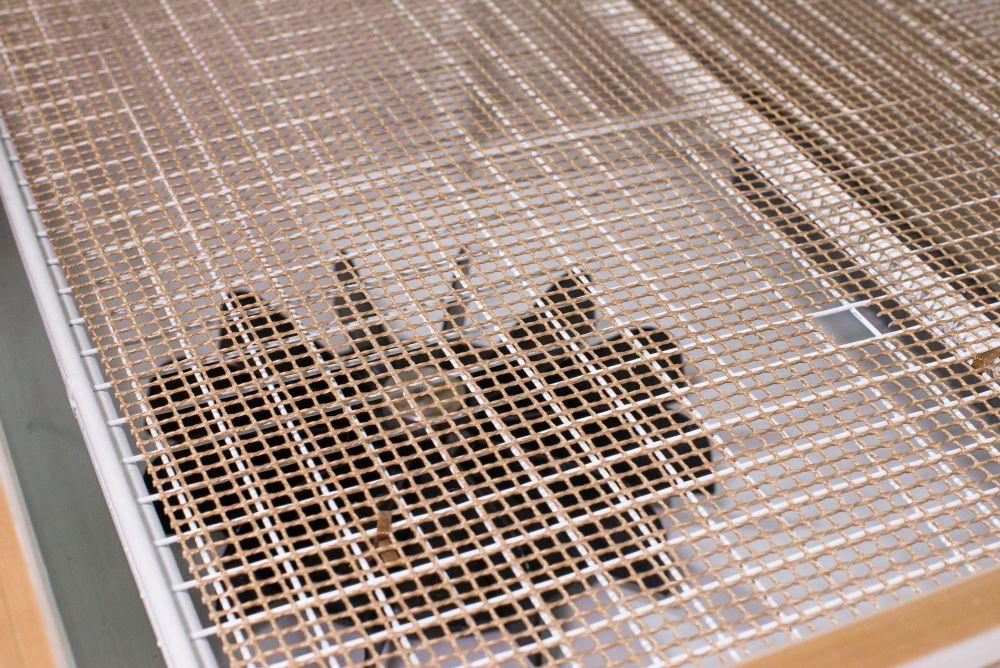 Tela Teflon( redinha) para Manutenção de Seladora Conjugada 40x40